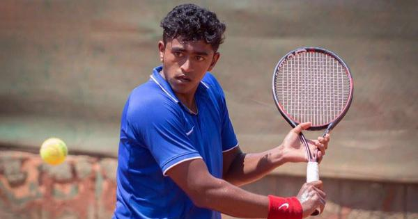 Pune ATP Challenger: Indian wildcards Aryan Goveas and Manish Sureshkumar go down in first round