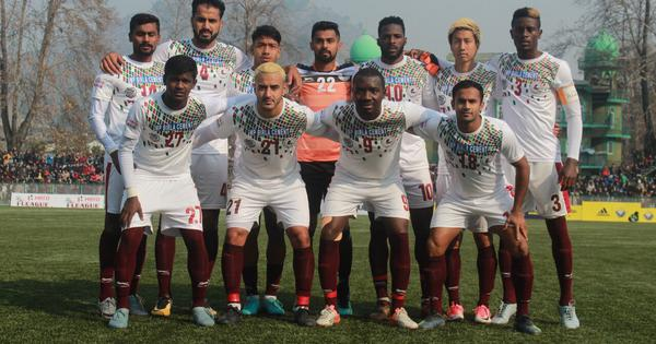 I-League: Dipanda Dicka heads home as Mohun Bagan climb to second place with win over Real Kashmir