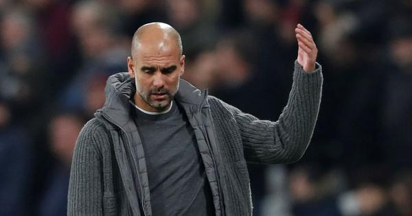 Manchester City paying the price for raising Premier League standards, says Pep Guardiola