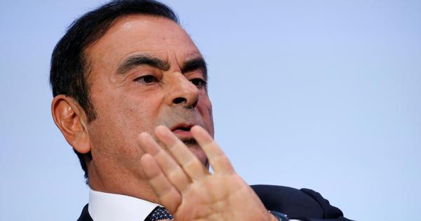 Mitsubishi dismisses Chairperson Carlos Ghosn following his arrest for financial misconduct