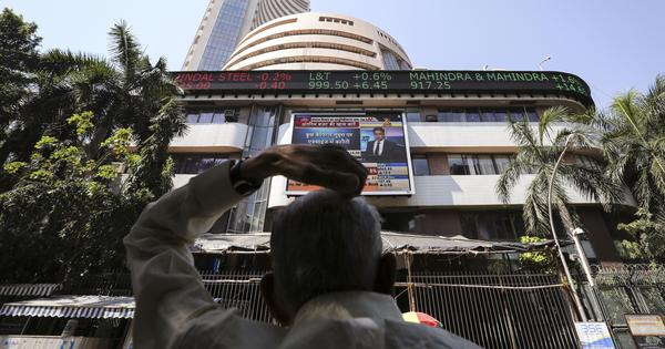 Sensex, Nifty reach all-time high intra-day, but close slightly lower