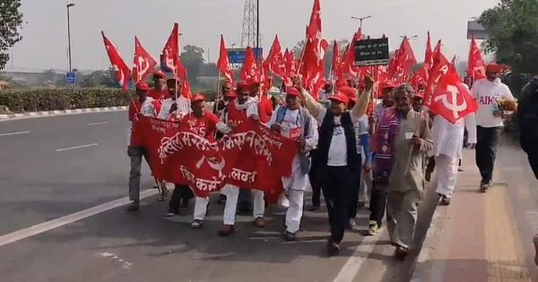 Unseen faces of protest: Watch thousands of farmers from across the country gather in Delhi