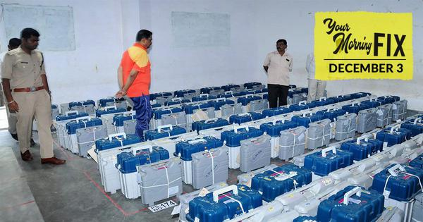 Your Morning Fix: Why is the Congress alleging EVM tampering in Madhya Pradesh?