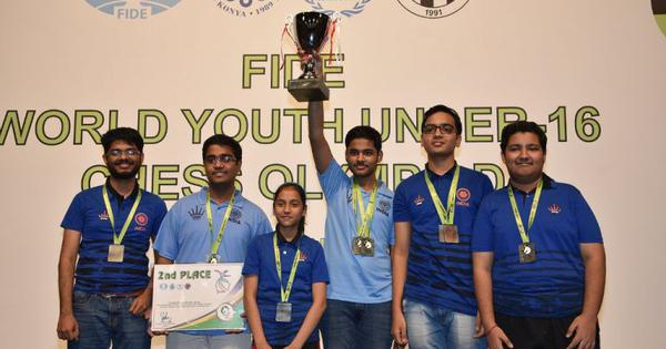 India win silver medal in World Youth Chess Olympiad, Arjun Erigaisi wins individual silver