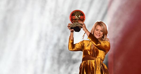 Ada Hegerberg wins historic first women's Ballon d'Or, plays down request to 'twerk' live on stage