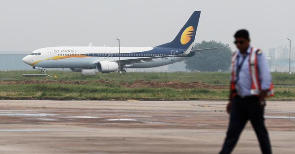 Jet Airways is currently operating less than 15 aircraft, says Ministry of Civil Aviation