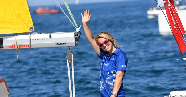 Sailing: Only woman and youngest competitor in Golden Globe Race rescued by Chinese ship