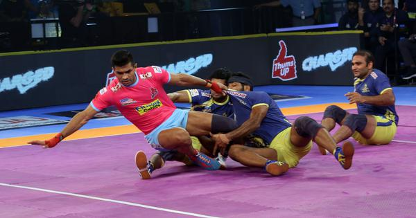 Pro Kabaddi: Jaipur Pink Panthers beat Tamil Thalaivas 37-24 to remain in playoffs race