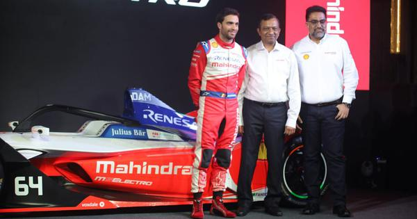 Mahindra Racing unveils car for new Formula E season