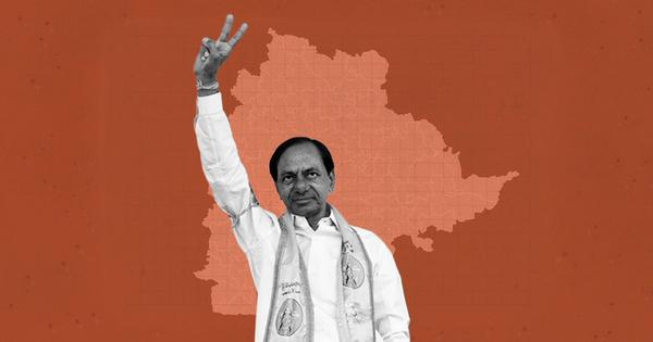 Telangana Assembly polls: Early trends show huge TRS victory