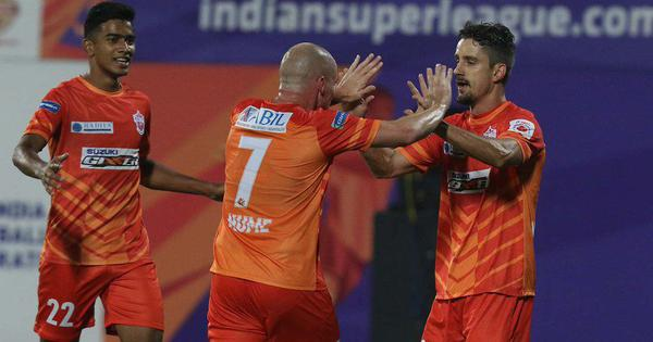 Indian Super League: Marcelinho's stunning goal sets up Pune City's win over FC Goa