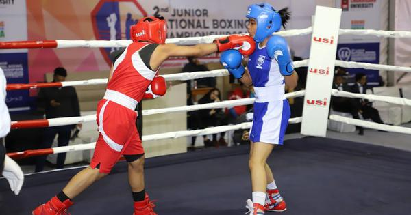 Boxing: Manipur's Bidyapati stuns favourite Amisha Bharti on day three of junior Nationals