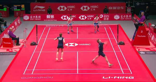 Watch: The first two days of the BWF World Tour Finals have already seen some lung-bursting rallies