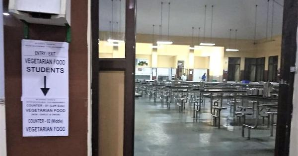 'Untouchability at IIT Madras': Segregation of dining hall for 'pure vegetarian' students sparks row