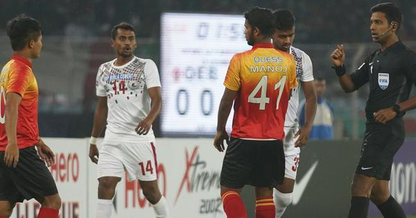 Quess East Bengal defeat 10-man Mohun Bagan 3-2 in I-League season's first Kolkata Derby