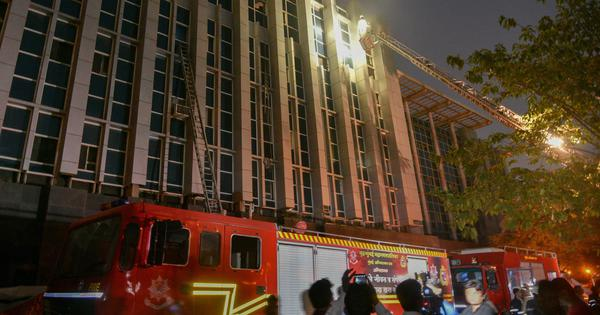 Mumbai: Another fire breaks out at ESIC Kamgar Hospital, no casualties reported