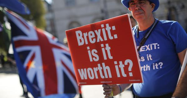 Watch: In Britain, the Brexit controversy is reaching a flashpoint, as an MP calls it a 'fraud'