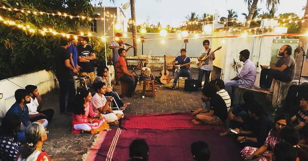 At these jam sessions in Chennai, it's the audience that takes centre stage