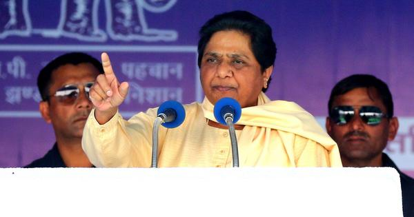 Election watch: Mayawati criticises Narendra Modi, says his time is over