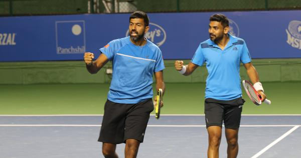 Indian tennis: Bopanna and Sharan knock out second seeds at Halle; Ramkumar advances at Nottingham