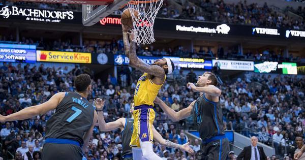 NBA: Brandon Ingram and Lonzo Ball inspire late surge to lifts Lakers over Mavs
