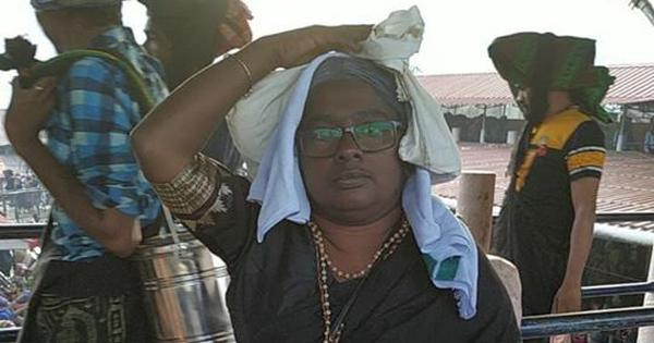 Sabarimala: 36-year-old woman claims she offered prayers at the hill shrine