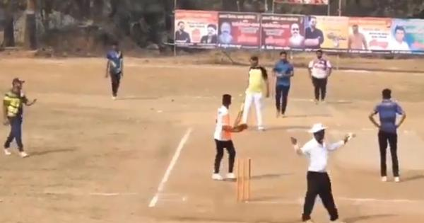 Watch: The most unlikely way to win (or lose) a cricket match