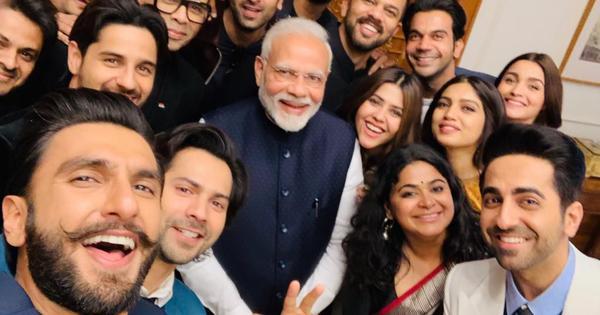 Bollywood delegation meets Narendra Modi, discusses nation-building
