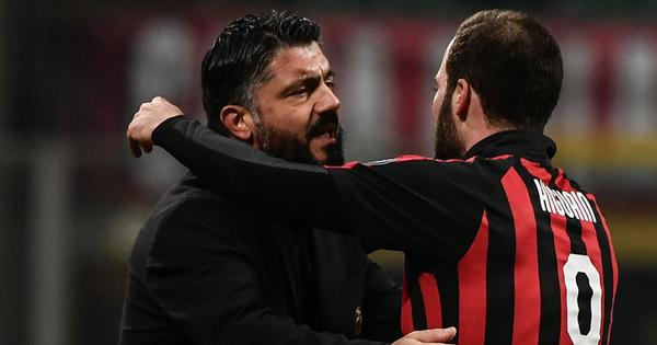 Serie A: Gonzalo Higuain intent on leaving AC Milan, says coach Gennaro Gattuso