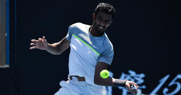 Indian tennis wrap: Prajnesh qualifies for Miami Open main draw; Raina, Paes suffer losses