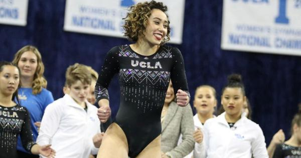Watch: American student Katelyn Ohashi's stunning gymnastics floor routine goes viral