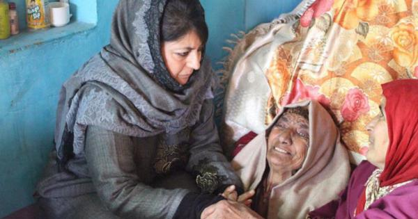 In South Kashmir, Mehbooba Mufti revives the politics of mourning to win back support for PDP