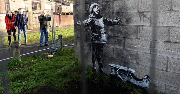 Can street art be taken off the street? What the case of a Banksy piece moved to a museum suggests