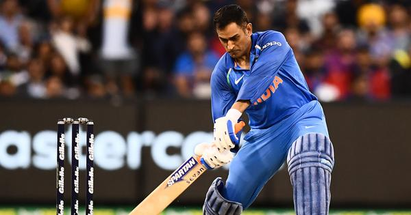 Watch: The best sixes MS Dhoni has hit in Australia