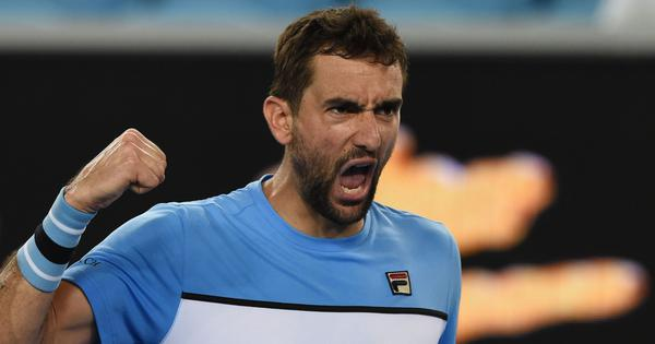 Australian Open Highlights: Marin Cilic wins five-set thriller, seagulls delay Konta-Muguruza match