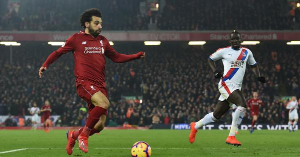 Premier League: Salah scores a brace in 10-man Liverpool's 4-3 win against Crystal Palace