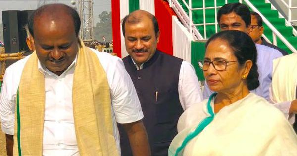 Mamata Banerjee is capable of leading the country, says HD Kumaraswamy