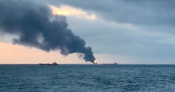 At least 14 killed as two ships carrying Indian, Turkish, Libyan crew catch fire off Crimea coast