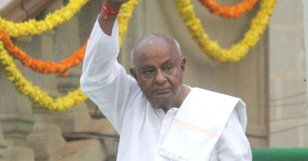Karnataka: Former Prime Minister HD Devegowda files nomination from Tumkur Lok Sabha constituency