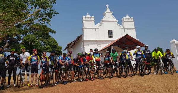 A small group of cyclists is trying to transform the way visitors experience Goa
