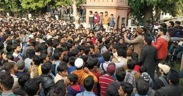 Police ignore AMU complaint after clash with Republic TV – and book students for sedition instead