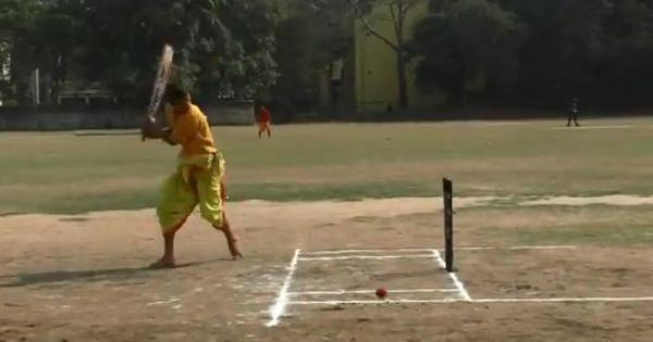 Watch: Players in dhotis and kurtas, commentary in Sanskrit – cricket like you've never seen before
