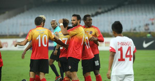 I-League: Quess East Bengal win fourth match in a row, defeat Shillong Lajong 5-0