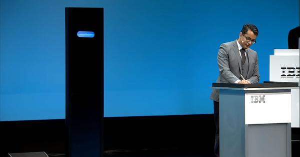 Watch: A human debate champion went up against IBM's Artificial Intelligence debater and won