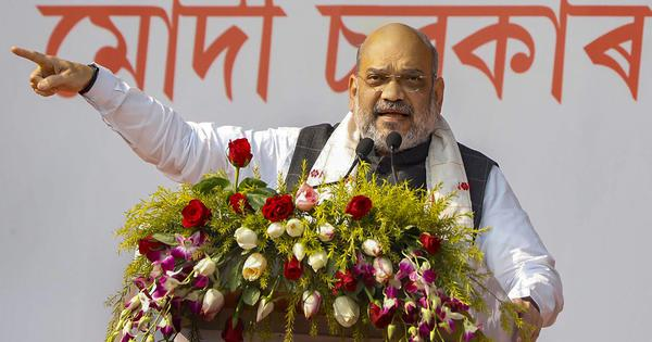 The big news: Amit Shah says BJP won't let Assam turn into another Kashmir, and 9 other top stories