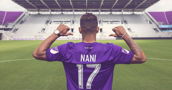 Former Manchester United winger Nani signs three-year contract with MLS club Orlando City
