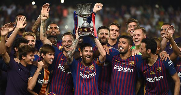 Football: Spanish federation to revamp Super Cup, to feature four teams