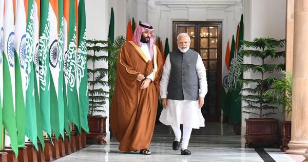 Why Modi is right to befriend Saudi Arabia's crown prince (even though he's a friend of Pakistan)