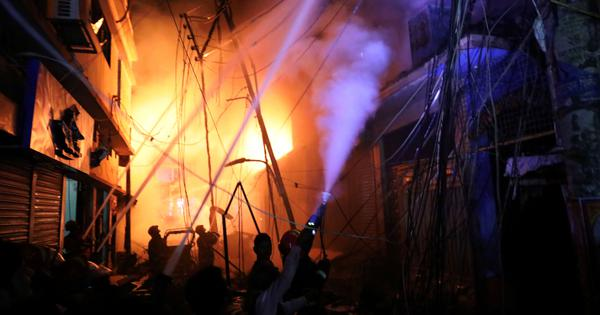 Bangladesh: At least 67 killed in massive building fire in Dhaka