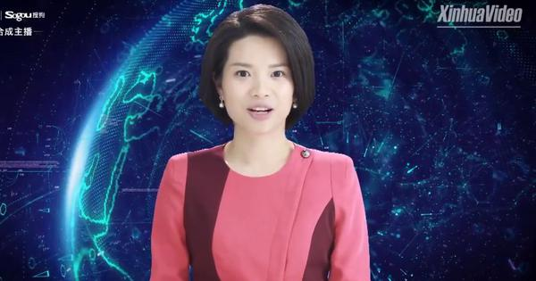 Watch: China's state-run television channel debuts AI female news anchor